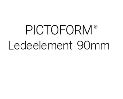Pictoform Ledeelement 90mm